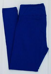 TC2 LuLaRoe Tall & Curvy2 Leggings Beautiful Solid Cobalt Blue NWT 08