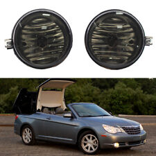 Smoke Fog Light Bumper Lamps For 2008-2010 Chrysler Sebring Sedan Convertible