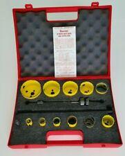 Starrett, Complete (11) Pc. Fast-Cut, Lock-Set, Bi-Metal Industrial Hole Saw Kit