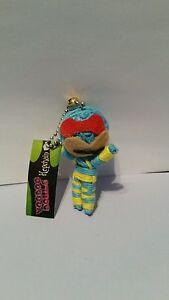 Cyclops Voodoo Doll Keyring Key Chain keyfob charm string wool girls boys gift