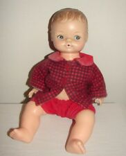 Vintage Small Horsman Doll 1950s Hard Plastic Drink Wet Cute Clothes