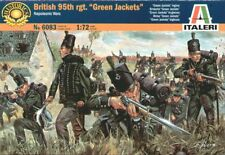 Italeri 1/72 Napoleonic British 95th Regiment Green Jackets # 6083