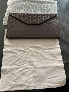 Authentic Gucci Tri-Fold Eye / Sun Glass Case GORGEOUS
