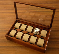 Toyooka Craft Wooden Watch Box SC134 Stores 10