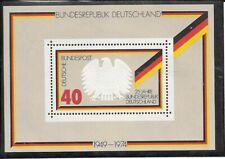 """Germany BRD 1974 Mi 807 Block 10 - """"25 Jahre Bundesrepublik Deutschland"""" - MNH"""