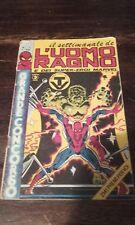 Il settimanale dell'uomo ragno corno numero 1 del 1981..Non perfetto