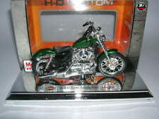 Maisto Harley-Davidson 2012 XL1200V SEVENTY-TWO Verde Metálico Verde, 1:18
