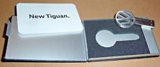 Volkswagen New Tiguan 4 GB USB Stick Schlüssel mit Leder-Etui VW Silber Presskit