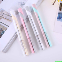 2pcs Cute Couple Gel Pen Black Ink Pen Kawaii Stationery School Office Supplies