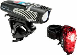 NiteRider Lumina 1200 OLED Boost Bike Bicycle Headlight + Solas 250 Taillight