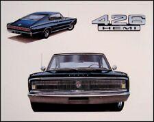 1967 Dodge CHARGER 426 Hemi, Refrigerator Magnet, 40 MIL