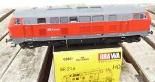 Brawa 0385 H0 Locomotora Diésel Br 216 102-4 DB Cargo Epoche 5/6 , 3-Leiter AC
