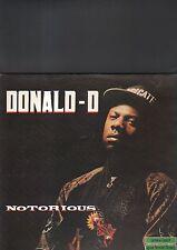 DONALD D - notorious LP
