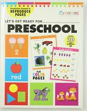 Let's Get Ready For Preschool Creative Teaching Materials Workbook + 20 Songs