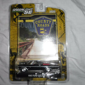 New Greenlight SE Country Roads 1965 Ford Galaxie 500 Limited Edition Car
