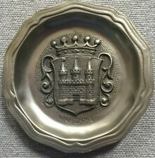 """Waremme Belgium Castle 6"""" Metal Plate"""