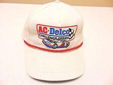 VTG-1980s AC Delco Challenge Serie Auto Stock Car Racing Snapback Hut