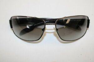 Mens PRADA Black Visor Style 5AV-3M1 Sunglasses Glasses w/ Case
