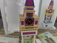 Dept 56 monopoly st charles newstand daily 13602 citylights village xmas holiday