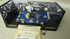 GMP Mark Donohue race car & figure 1:18 Penske Sunoco T70 MK Chevy Lola Spyder