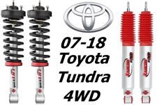 Rancho Front Quicklift Struts & RS9000XL Rear Shocks For 07-18 Toyata Tundra 4WD
