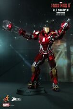 """Hot Toys Iron Man 3 Power Post Mark 35 XXXV Red Snapper 1/6 12"""" figure PPS002"""