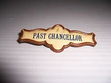 VINTAGE ANTIQUE THE WHITEHEAD & HOAG PAST CHANCELLOR PIN BADGE BROOCH PAT 1892