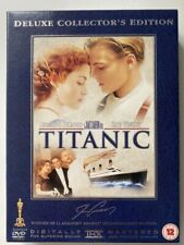 TITANIC DELUXE COLLECTOR'S EDITION 4 DVD'S