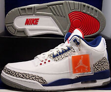 2016 Nike Air Jordan 3 III Retro OG True Blue SZ 9.5 ( 854262-106 )