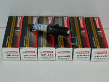NEW SET OF 6 GENUINE OEM FORD MOTORCRAFT SP-445 COPPER CORE SPARK PLUG AGSP33C