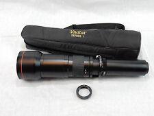 Vivitar Series 1 650-1300mm Telephoto Zoom Lens for Nikon D5300 D700 D7000 D7100