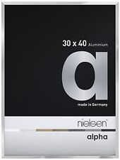 Nielsen Alpha Picture Frame Polished Silver A4