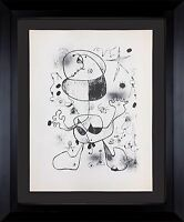 Joan MIRO Lithograph Ltd. Edition +Cat. Ref: c13 +Archival FRAMING - Modern NOW™