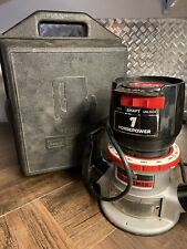 Sears Craftsman 1-HP Double Insulated Router, Model 315.17460, 6.5 AMP