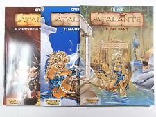 ATALANTE # 1 + 2 + 3 komplett ( Carlsen Verlag , Softcover ) Z 1-2