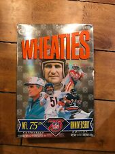 Vintage UNOPENED Wheaties Box - 1994 NFL 75th Anniversary Collectors Edition