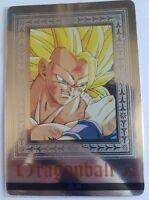 Carte Dragon Ball Z DBZ Hero Collection Part 4 #PC-41 Platina Card BANDAI 1995