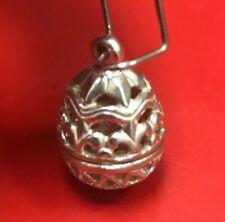 Retired James Avery 3D Easter Egg Sterling Silver Rare Charm