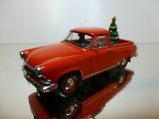 NEO MODELS 44480 VOLGA GAZ PICKUP 1960 CHRISTMAS - RED 1:43 - EXCELLENT - 33/32