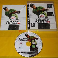 TIGER WOODS PGA TOUR 09 Ps3 Versione Ufficiale Italiana 1ª Edizione ○○○ COMPLETO