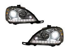 DEPO 02-05 Merecedes W163 M Class LED Strip Hi/Low Bi-Xenon Projector Headlight
