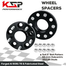 2PC 15mm Wheel Spacer Adapter 5x4.5 to 5x114.3 12X1.25 Studs Fit Nissan Infiniti