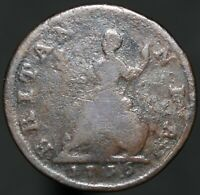 1736 | George II Farthing | Copper | Coins | KM Coins