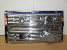 Center Bolt CHEVY ENGINE DRESS UP KIT<>Chrome VALVE COVERS  PVC  & Breather 5428