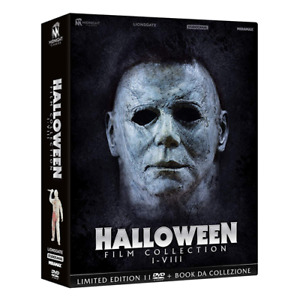 HALLOWEEN Film Collection I-VIII LIMITED EDITION 11 DVD+BOOKLET - sigillato
