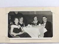 Vintage BW Real Photo #BB: Mounted: Social Group Party Birmingham