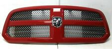 Dodge RAM 1500 2013-2019 Front Grille Flame Red OEM 13DSAC0010
