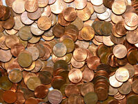 USA Konvolut Münzen - 1 Cent 1945-2020 Lincoln - Mischung 1 KILOGRAMM 1 Kg LOT