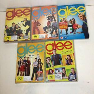 GLEE Seasons 1, 2, 3, 4, 5 Musical TV Show Region 4 PAL NEW DVDS
