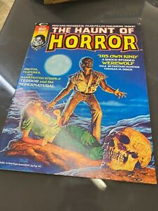 The Haunt of Horror #1 (May 1974, Cadence Comics) VINTAGE RARE